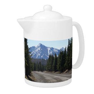 Pit Cher landscape in Alaska Teapot