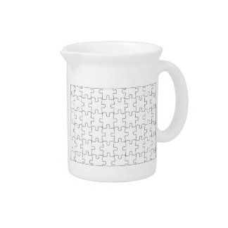 Pit Cher with motive for puzzle Pitcher