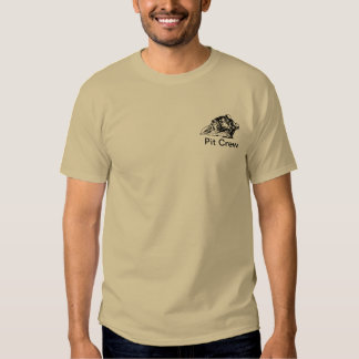 Pit Crew for Motorcycle Roadracing T-shirt