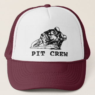 Pit Crew for Motorcycle Roadracing Trucker Hat