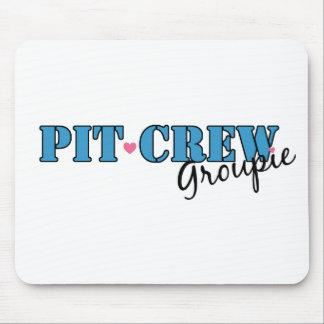 Pit Crew Groupie Mouse Pad