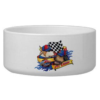 Pit Crew/Pit Bull Racing Bowl