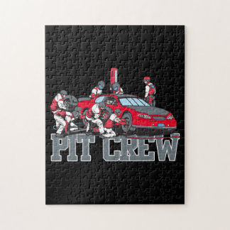 Pit Crew Jigsaw Puzzle