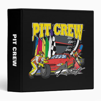 Pit Crew Racing Binders