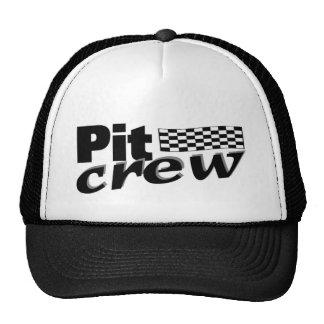 Pit Crew (Racing Flag) Trucker Hat