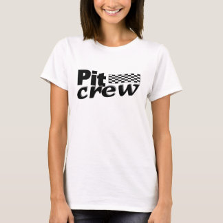 Pit Crew (Racing Flag) T-Shirt