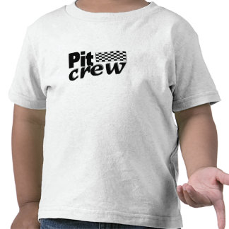 Pit Crew (Racing Flag) Tshirt