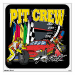 Pit Crew Racing Room Stickers