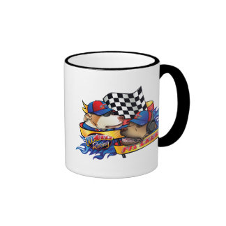 Pit Crew Ringer Coffee Mug