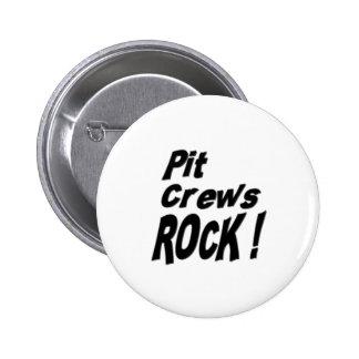 Pit Crews Rock! Button