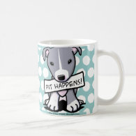 Pit Happens Pit Bull Dog Coffee Mug