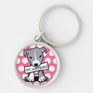 Pit Happens Pit Bull Dog Key Chains