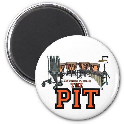 Pit Pride 2 Inch Round Magnet