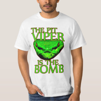 Pit Viper is the Bomb funny nerd t-shirt