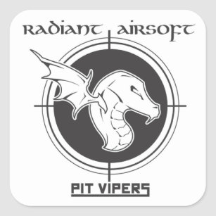 pit viper stickers zazzle 1967 Mustang Pit Viper pit vipers airsoft sticker