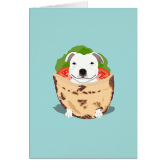 Pita Bull Birthday Card