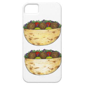 Pita Falafel Sandwich Mediterranean Food Case