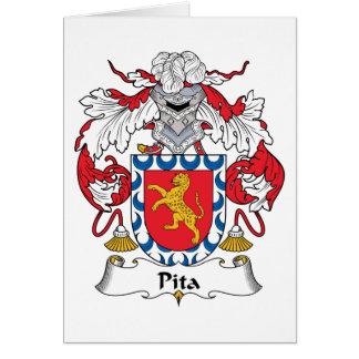 Pita Family Crest Card