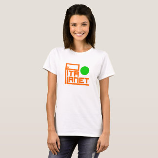 Pita Planet Main (Green Planet) T-Shirt