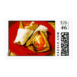 Pita Wraps Postage Stamps