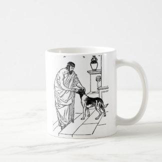 Pitágoras con el perro tazas