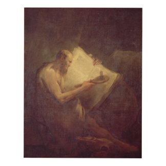 Pitágoras (siglo VI A.C.) (aceite en lona) Cuadro