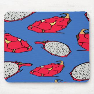 Pitaya fruit pattern mouse pad