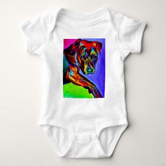 Pitbull #4 body para bebé