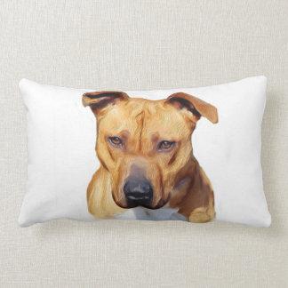 Pitbull American MoJo lumbar throw pillow