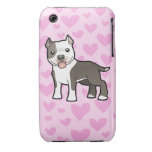 Pitbull / American Staffordshire Terrier Love iPhone 3 Case