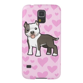 Pitbull / American Staffordshire Terrier Love Galaxy Cover