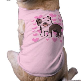 Pitbull / American Staffordshire Terrier Love Shirt
