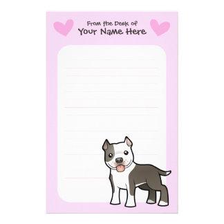Pitbull / American Staffordshire Terrier Love Stationery