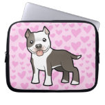 Pitbull/amor de Staffordshire Terrier americano Mangas Computadora
