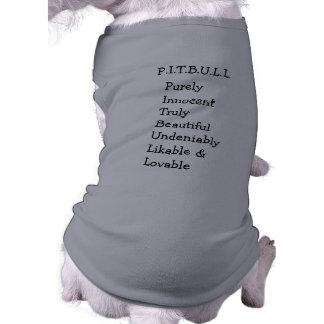 Pitbull Benz de las cercas para el SUÉTER del PE Ropa Para Mascota
