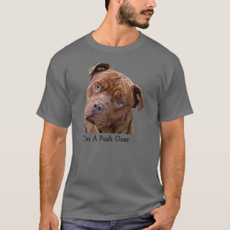 "Pitbull ""Benz"" of Fences For Fido Mens T-Shirt"