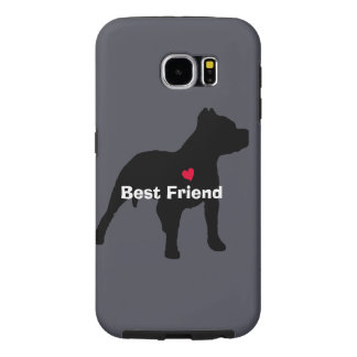 "Pitbull ""Best Friend"" Phone Case"