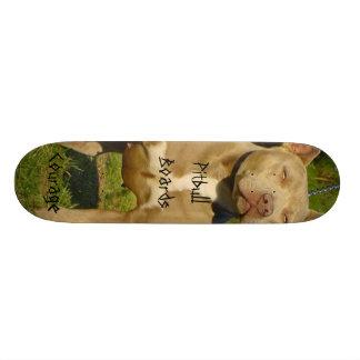 Pitbull Boards Courage Skateboard Decks