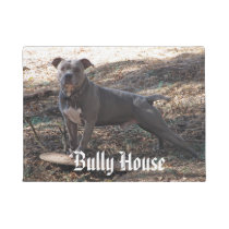 Pitbull Bully House Doormat