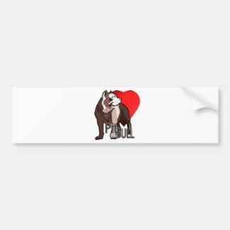 Pitbull Bumper Stickers
