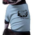 PITBULL-Cara, PitBull, asustadizo Ropa De Mascota