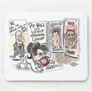 Pitbull Cartoon Mousepads