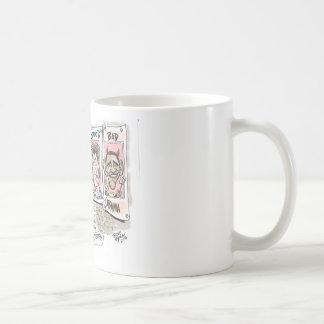 Pitbull Cartoon Coffee Mugs