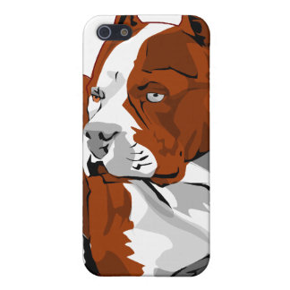 Pitbull color iphone4 cover for iPhone SE/5/5s