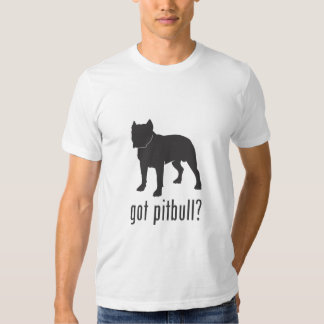 Pitbull conseguido AP Playeras