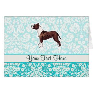 Pitbull; Cute Card