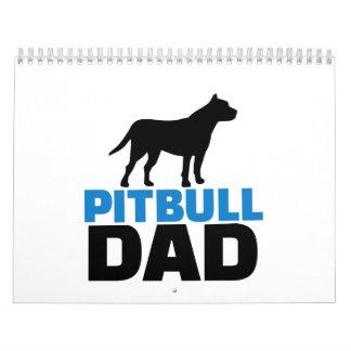 Pitbull Dad Calendar