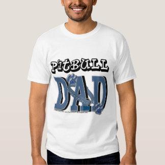 Pitbull DAD T Shirts