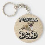 PitBull DAD - Tigger Keychain