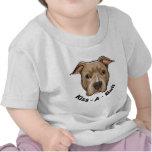 Pitbull de Beso-UNO-Bull Camisetas
